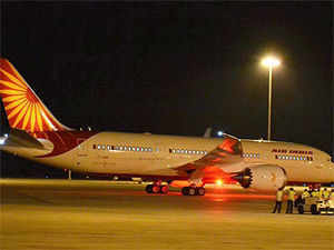 The incoming flight will leave the national capital at 0625 hours and arrive in the city at 0800 hours, Usha Jecob, Station Manager of Air India said.