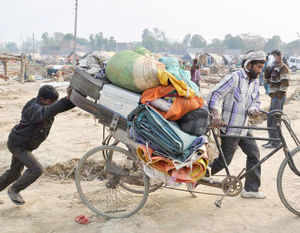 National Commission for Minorities expressed dissatisfaction over alleged eviction of riot-victims from relief camps in Muzaffarnagar in Uttar Pradesh.