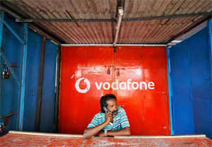 Finance Ministry said the Rs 10,141-crore proposal of Vodafone to buyout minority stake in its Indian arm has been referred to the Prime Minister headed CCEA for approval.