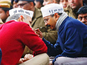 Making sense of Aam Aadmi Party's methods is a challenge, but the tactics raise the question if it is looking to exit office in a blaze of glory.