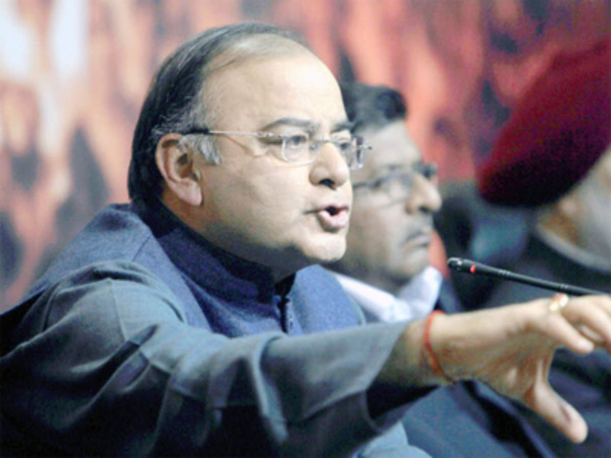 Anarchy Nation Pictures arun jaitley targets arvind kejriwal; says anarchy cannot be