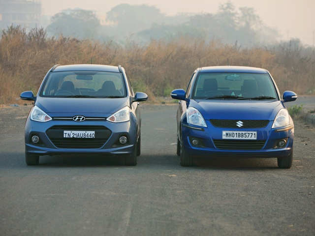 Hyundai Grand I10 Versus Maruti Suzuki Swift Grand I10