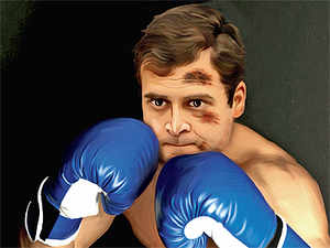 Rahul Gandhi's debut on television was doubtless an unmitigated disaster, but that may be only the first round of a long drawn out slugfest.