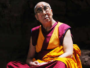 "Try to solve local problems keeping in mind solutions to global problems"", the Dalai Lama said while delivering the First LBS Founders' Commemorative Lecture on 'A Human Approach to Peace and the Individual'."