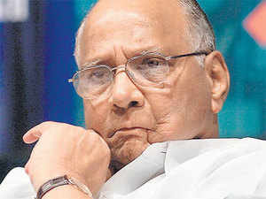 Sharad Pawar piped down his party's stand with regard to the Congress and accepted the reality that both parties need to ink a pre-poll alliance
