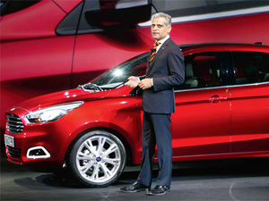 Ford To Invest 2 Billion In India Will Create Thousands Of Jobs Kumar Galhotra The Economic Times