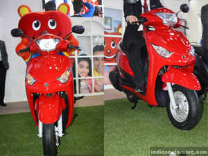 The company aims to sell 2 lakh units of the newly launched scooter 'Alpha' per year in the country. The product is mainly targeted for family usage.
