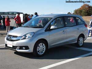 Auto Expo 2014: Honda unveils MPV Mobilio & third generation Jazz