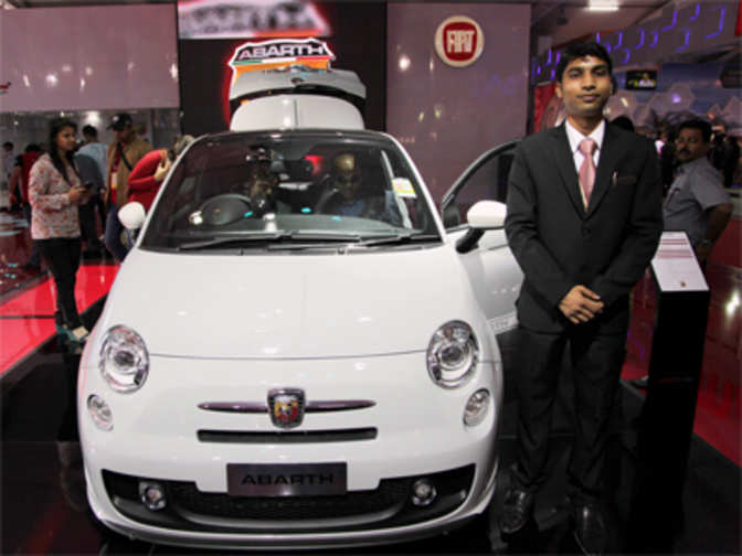 Auto Expo 2014 Fiat To Assemble Abarth500 In India
