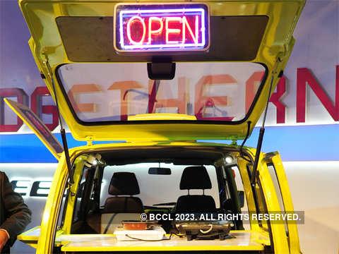 New front bumper - Maruti showcases 'Omni-licious' Cafe