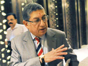The panel's report come just two days after Srinivasan was chosen as chairman of the International Cricket Council.