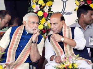 The BJP campaign strategy — 'Chai pe Charcha' and 'One note, One Vote' — was also discussed at the dinner, party sources said.