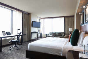 Average room tarriff for branded hotels in the city has risen 10% to Rs 4,500 per night, according to data from research firm Comset.