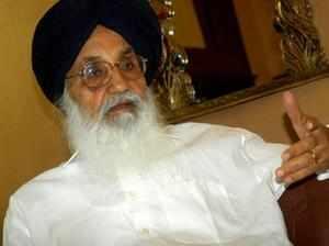 Punjab Chief Minister Parkash Singh Badaldemands separate budget for agriculture sector