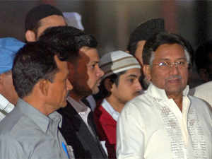 The three-judge court will announce on Friday it decision on petitions filed by Musharraf seeking his trial by a military court under the Army Act.