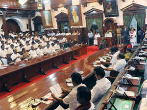 DMDK whip V Chandrakumar made the plea during a discussion on the budget, which was preceded by the eviction of DMK members on the same issue.