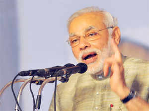 BJP's Prime Ministerial candidate Narendra Modi today attacked Congress, saying its ministers were disrupting proceedings on the floor of the House.