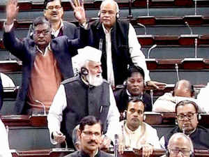 The issue of reservation generated heat in the Lok Sabha today with government coming under attack for not bringing a constitutional amendment to annul a Supreme Court order.