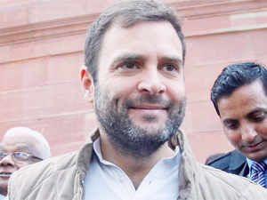 Rahul Gandhi slammed the SP-led UP government over non-implementation of Food Security Act in the state