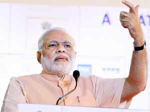 Narendra Modi said creation of jobs remains a focal point of  development even as he took a dig at P Chidambaram over fiscal  management