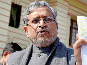 Sushil Kumar Modi claimed he did not rule out Nitish Kumar joining hands with the saffron party again