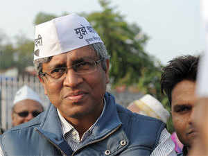 "AAP leader Ashutosh asked, ""What is the source of BJP's Rs 400 crore it is spending on advertisements? Is it black money? Is BJP doing some business?"""