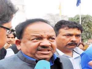 """Harsh Vardhan said BJP cadres have already started door to door campaign to expose the """"corruption"""" of Congress and the """"anarchy"""" of the AAP."""