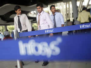 "Infosys issued a statement quoting a senior bank official to say there were ""no inherent deficiencies."""