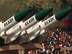 India today test-fired the indigenously developed surface-to-airAkashmissile from the Integrated Test Range launch complex atChandipur