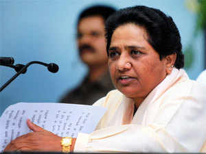 """""""We will put our entire strength to prevent Narendra Modi from becoming the Prime Minister. It is in interest of the country to prevent the BJP from coming to power (in the next elections),"""" Mayawati said."""