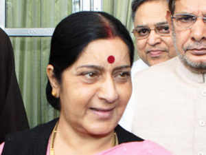 Leader of the OppositionSushmaSwarajtoday praised Sonia Gandhi and other Congress leaders, returning the accolades received in theLokSabha.