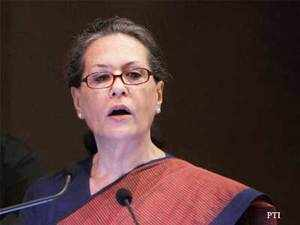 Sonia Gandhi today told leaders from Telangana to reach out to people of Seemandhra and not to use harsh words against them.