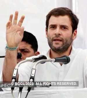 Rahul Gandhi blames opposition for non-passage of anti-graft Bills