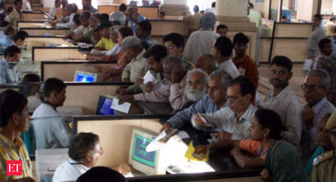 Changing the bank for pension account - The Economic Times