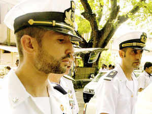 The Law Ministry today concurred with the External Affairs Ministry on non-applicability of a controversial anti-piracy law which is being strongly contested by the Italian government