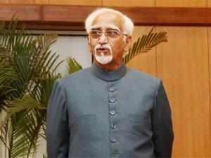 Rising competition improving performance of India Inc: Hamid Ansari