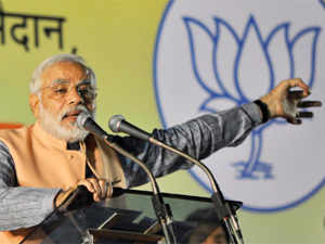Venkaiah Naidu today said the two regions should support leadership of Narendra Modi as BJP is more credible than Congress in fulfilling promises.