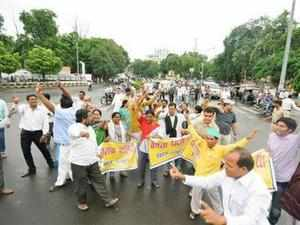 Congress leaders from Telangana vow to develop the state