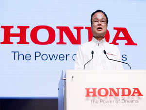 The facility would focus on research and development and is likely to come up at the company's existing manufacturing plant at Greater Noida. (Image:President and CEO Takanobu Ito)