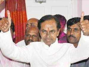 He also met President Pranab Mukherjee to thank him on the Telangana issue. Rao said that he had met the Congress Vice President to convey his appreciation for the Telangana decision.