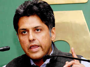 """Hitting out at the Aam Admi Party, Union Minister Manish Tewari today said the party could not face media scrutiny once it chose to form a government which was the reason for its """"cut and run"""" strategy."""