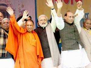 'There is an unmissable Narendra Modi wave in Uttar Pradesh this time. BJP will win the largest number of seats in the state .'