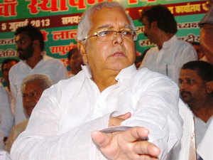 A meeting of RJD legislature party has been called at the residence of former chief minister Rabri Devi here in which Lalu will be present along with other top leaders.