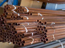 Amid a weak trend overseas on demand concerns, copper futures fell further by 0.23% to Rs 446.20 per kg as speculators engaged in reducing exposures.