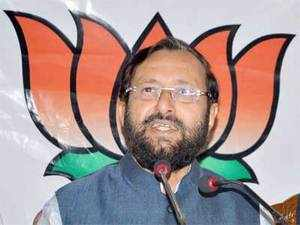Prakash Javadekar said the outburst shows the panic in Congress over the groundswell of support for the Narendra Modi-led BJP.