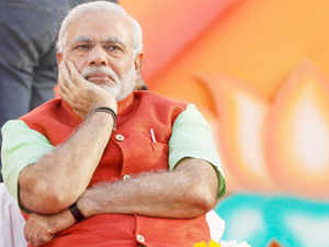 Modi said the country had seen white and green revolutions in the past and the time has come to witness saffron revolution now.
