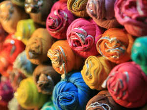 Textile exports stood at $34 billion in 2012-13 and the government has set a target of $60 billion for 2014-15.