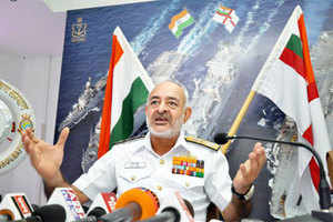 "Retired senior officers today expressed surprise over the sudden decision of Navy Chief Admiral DK Joshi to resign taking ""moral responsibility"" over the spate of mishaps involving naval warships in the last seven months."