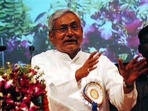 "Unimpressed with BJP's offer to apologise for any ""mistake"" or shortcomings in the past, Bihar Chief Minister Nitish Kumar today said one needed to have ""courage"" for it."