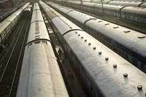 Shares of companies which depend on the Indian Railways for their income jumped 5-12% on Monday following news that the government is considering a proposal to allow foreign direct investment in railway.